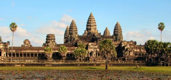 Angkor Wat, Camboja. Foto Wikipedia