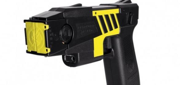 Fotografía de una Pistola Taser.