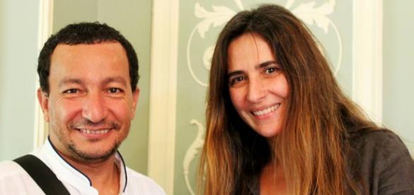 Mohamed M. Hammú e Helena Osório por Joel Snitram.