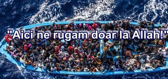 Refugiații musulmani au înecat 12 creștini