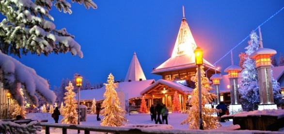 A Finlândia é conhecida como terra do Papai Noel.