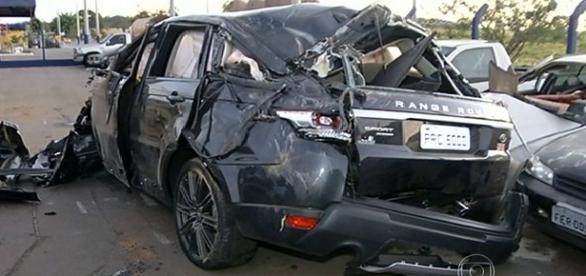 Land Rover de Cristiano Araujo estava a 179 Km/h