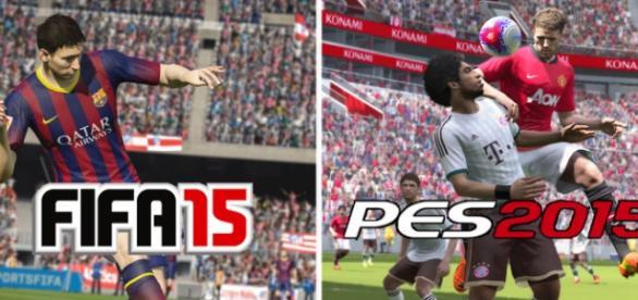 Comparativa FIFA 15 vs PES 2015