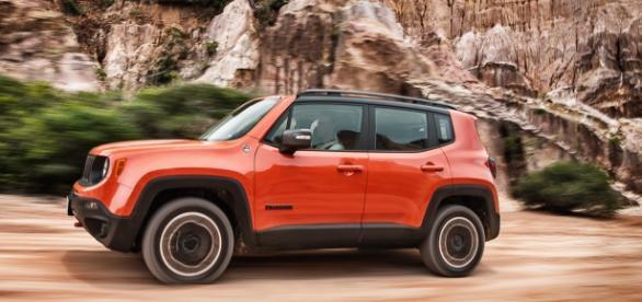Jeep Renegade, um dos destaques de julho