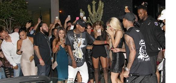 Kylie Jenner war außer sich vor Freude.