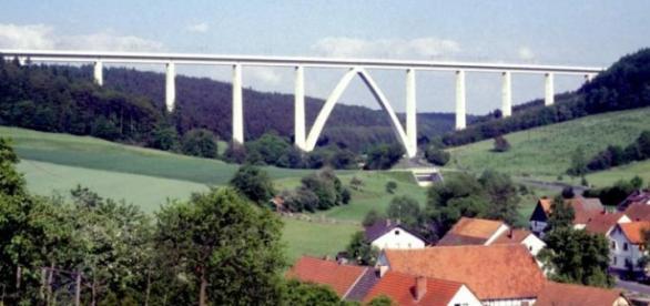 Puente Rombachtalbrücke, Alemania