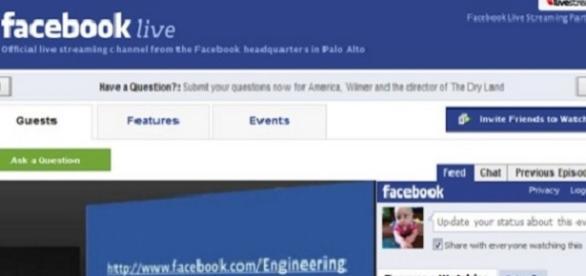 Facebook Live, nova ferramenta.