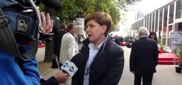 Kandydatka PiS na premiera Beata Szydło.