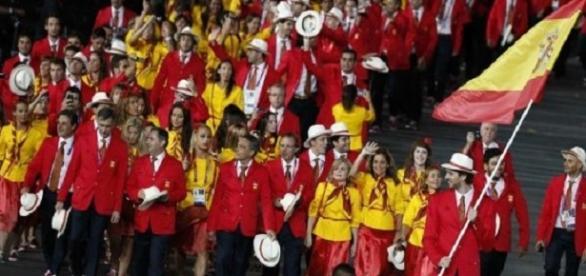 La delegación española en Londres 2012. EFE.