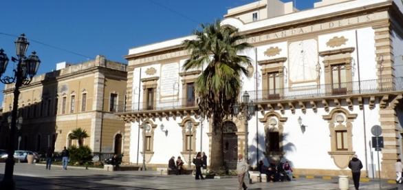 La sede del Palazzo Municipale di Augusta