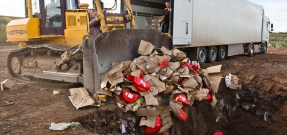 Rusia destruye los alimentos procedentes de Europa