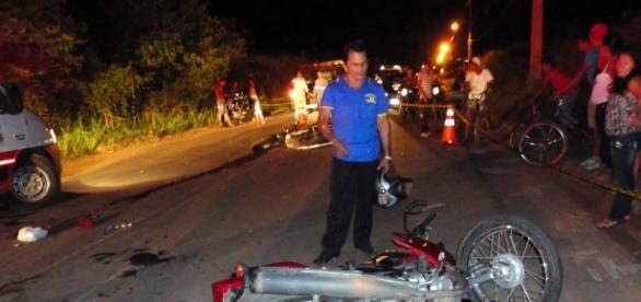 Idos não sobreviveu no local do acidente.