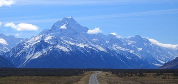 Mount Cook, najwyższa góra nowej Zelandii