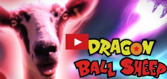 Porta del video parodia a Dragon Ball Z