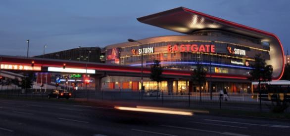 Futuristischer Shoppingtempel: Eastgate Berlin