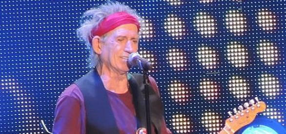 Keith Richards performing in 2012.