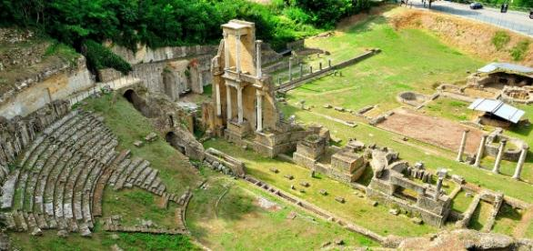 Teatro de Volterra descubierto hace seis decadas