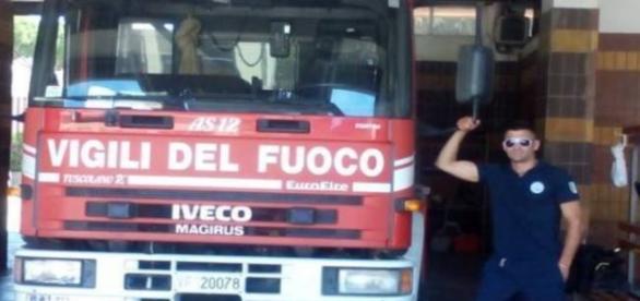 Un argeşean este voluntar la Pompierii italieni