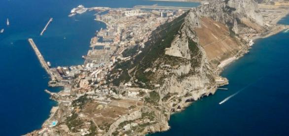 Imagen aérea general de Gibraltar