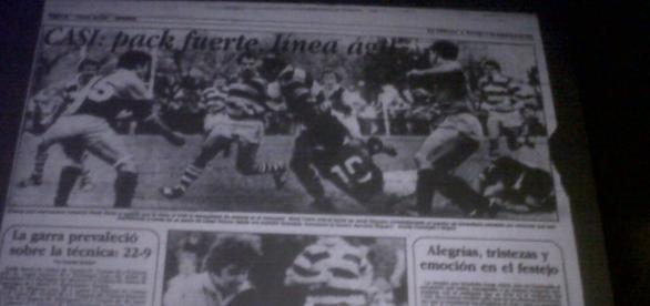 "Crónica del Diario ""La prensa"" 1985"