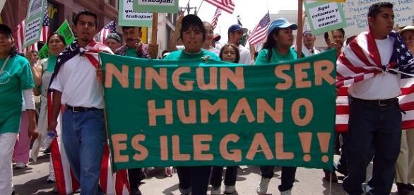 La inmigración se ha convertido en una catástrofe.