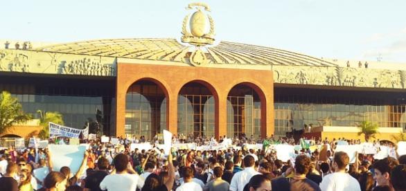 Manifesto realizado em Palmas, TO