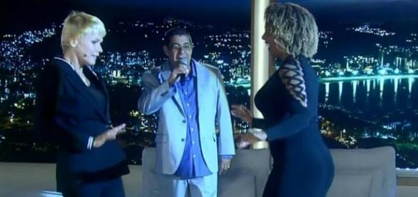 Zeca Pagodinho chama Xuxa de Globeleza
