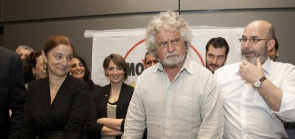 Beppe Grillo, fondatore del M5S
