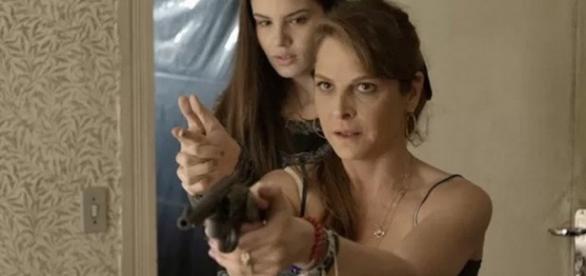 Carolina ensaiará matar Alex em novela