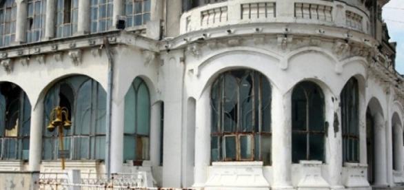 Cazinoul din Constanta.Bantuit de soldati francezi
