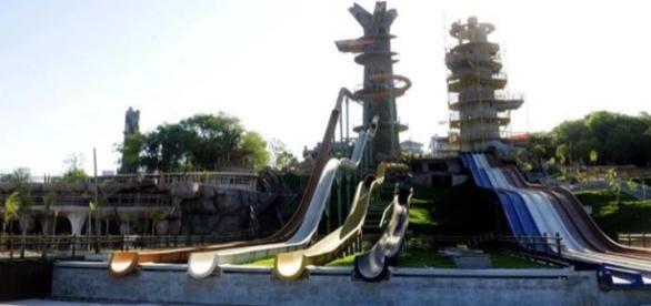 Dores Praia Park (Foto: Reprodução/Agencia RBS)