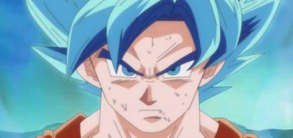 """Goku transformado en """"La Resurrección de Freezer"""""""
