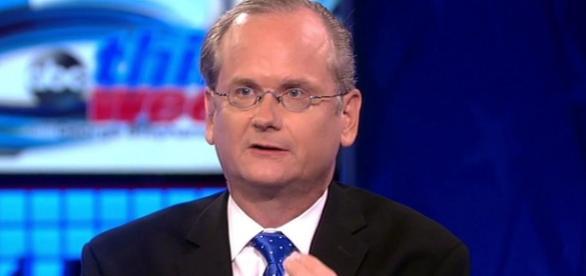 Larry Lessig , profesor candidato a la presidencia