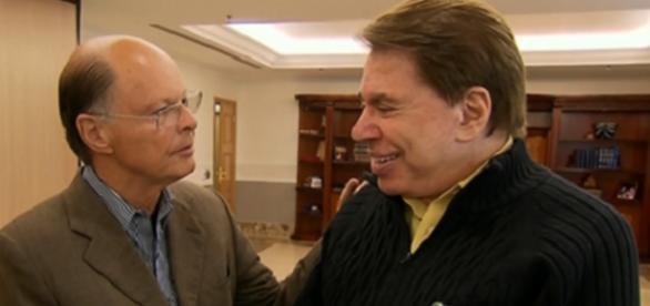 Bispo Macedo e Silvio Santos em encontro inédito