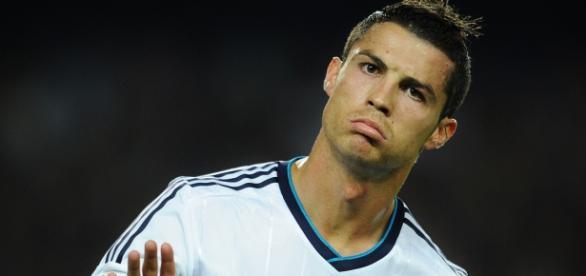 Cristiano Ronaldo está triste no seu clube.