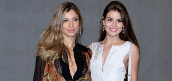 Foto: Pure people - Grazi e Camila Queiroz
