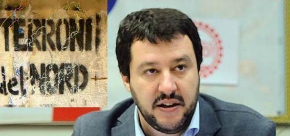 Il leader della Lega Nord, Matteo Salvini