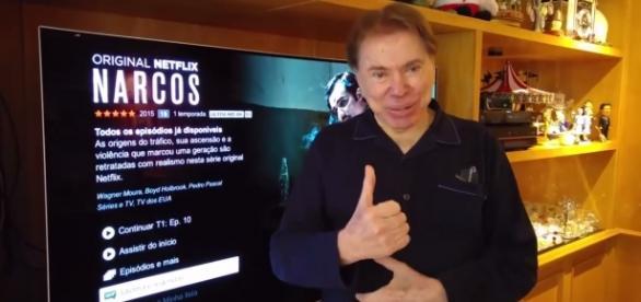 Milionário, Silvio Santos faz propaganda da LG