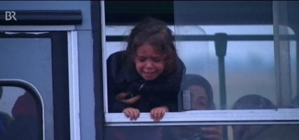 Oft werden Familien auf der Flucht zerrissen!