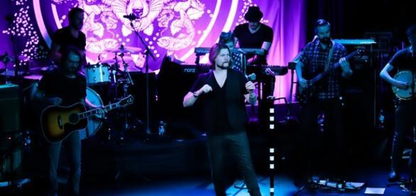 Rea Garvey singt live beim Solheim-Cup