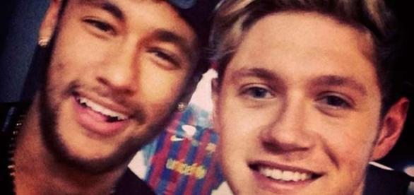 Niall é amigo de Neymar e outros famosos