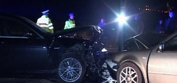 Un nou accident grav pe șoselele din România