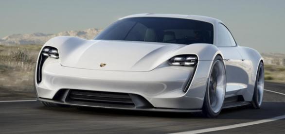 Ein Prototyp des derzeit hergestellten Porsche