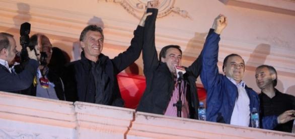Macri junto con Mestre. Ph: La Mañana de Córdoba