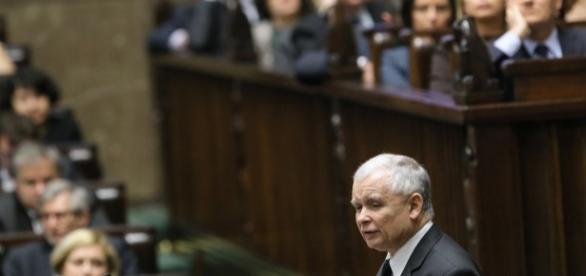 Jarosław Kaczyński (Foto: PAP/EPA/Paweł Supernak)