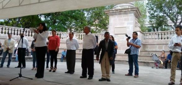 López Obrador. Foto: Cuauhtémoc Villegas.