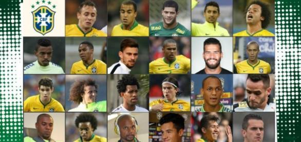 Dunga convoca 23 jogadores para as Eliminatórias