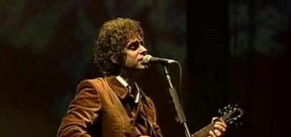 El ex Soda Stereo, Gustavo Cerati.