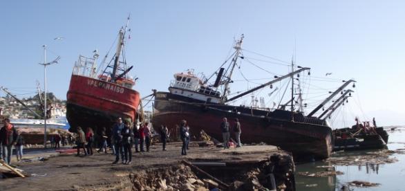 El terremoto de Chile provocó un tsunami
