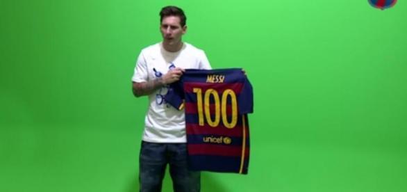 Messi cumplió 100 partidos en la UCL